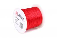 Шелк Гладкий 1,0мм Цвет Красный 01