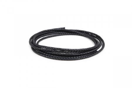 Кожа плетеная (Германия) 4.0мм Цвет Черный 01