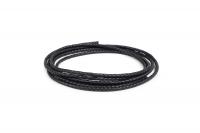 Кожа плетеная (KRAST ) 4.5мм Цвет Черный 01