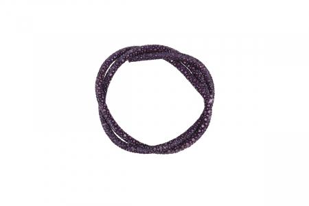 Кожа морского ската 4.0мм Цвет Фиолетовый (43-45см)